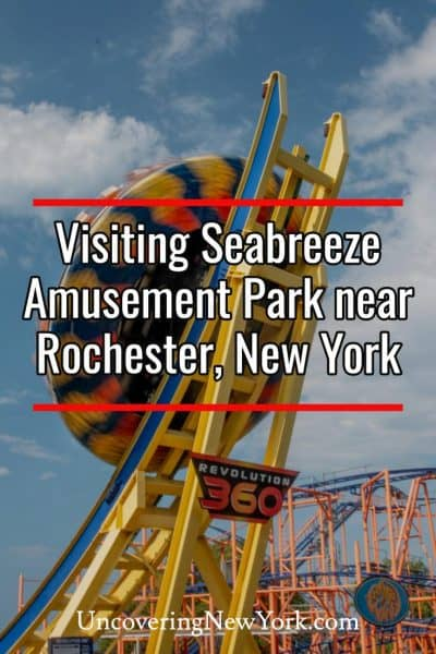 Visiting Seabreeze Amusement Park in Rochester, New York