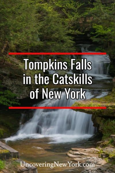 How to get to Tompkins Falls in the Catskills of New York