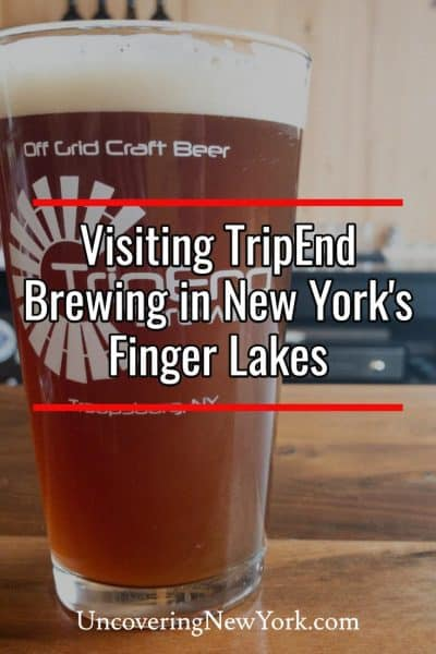 Review of TripEnd Brewing in Troupsburg, New York