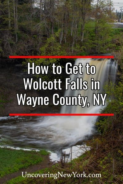 How to get to Wolcott Falls in New York's Finger Lakes