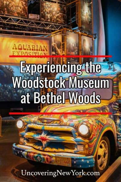 Experience iconic American history at the Woodstock Museum at Bethel Woods in Bethel, New York
