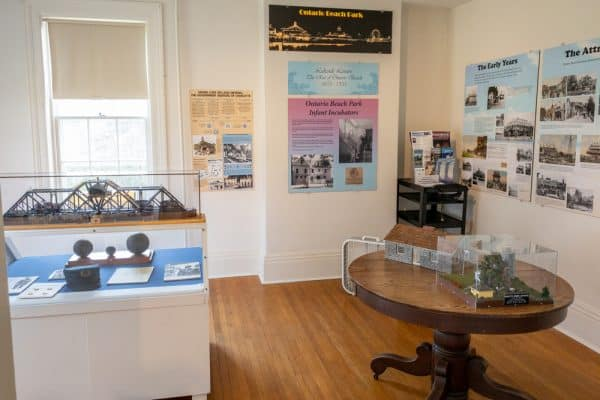 Museum at the Charlotte-Genesee Lighthouse in Monroe County, New York