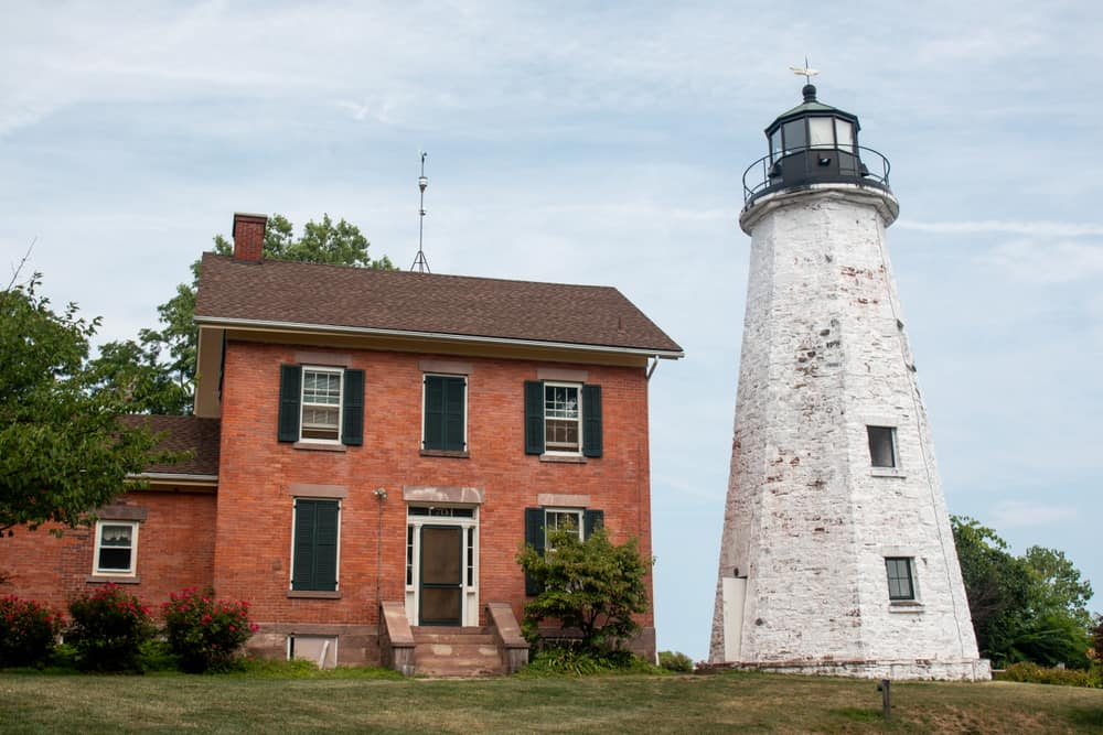 Visiting the Charlotte-Genesee Lighthouse near Rochester, NY