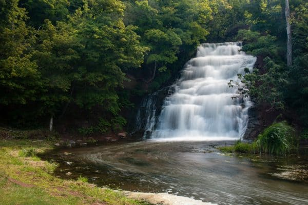 Holley Canal Falls in Orleans County, New York