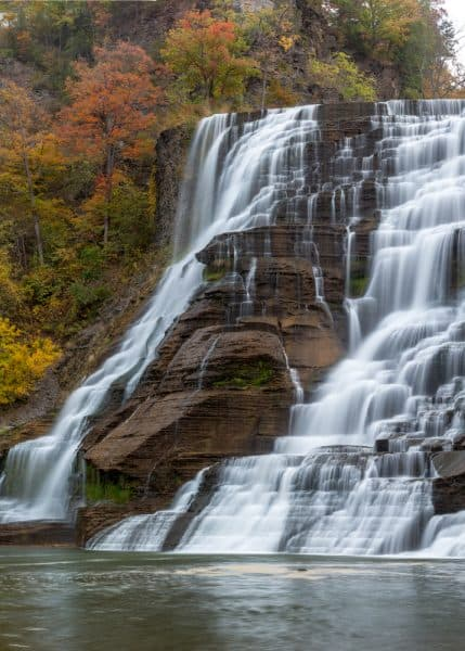 How to get to Ithaca Falls in Ithaca NY
