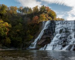 How to Get to Ithaca Falls in Ithaca, NY