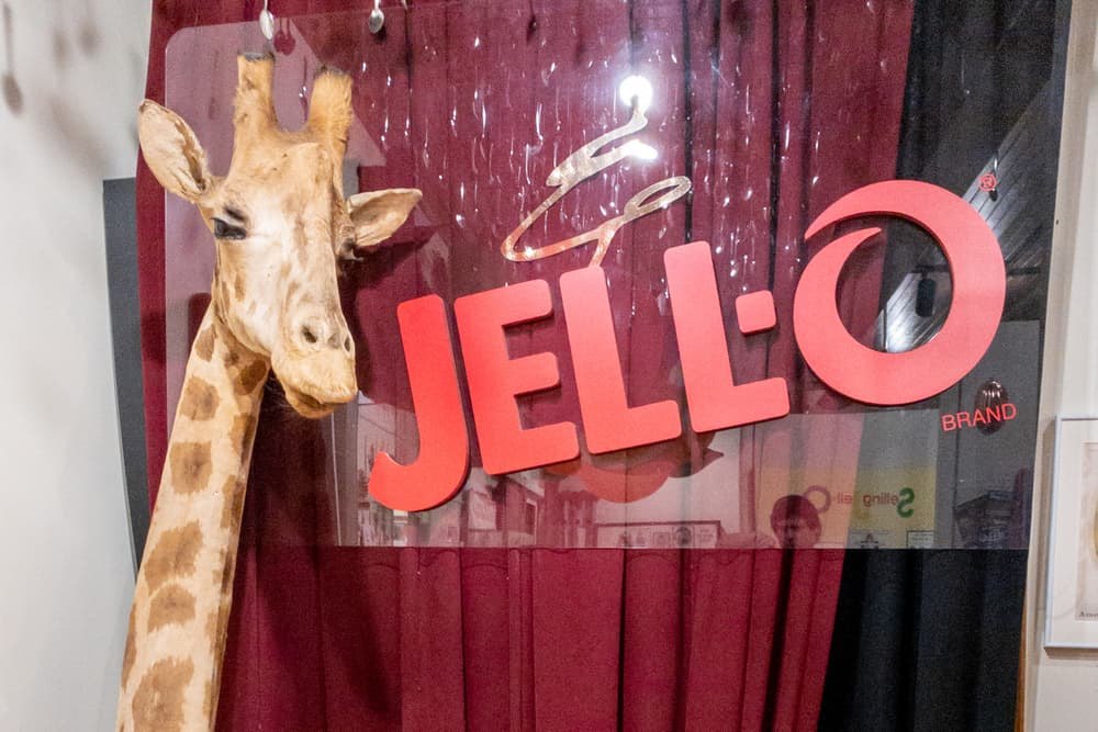 Visiting the Jell-O Museum in LeRoy NY