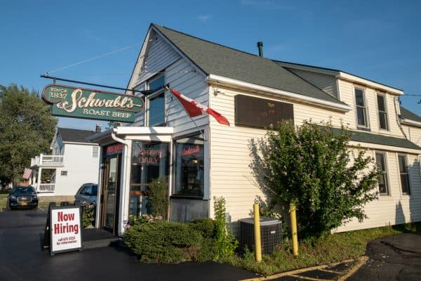 Schwabl's restaurant in West Seneca NY