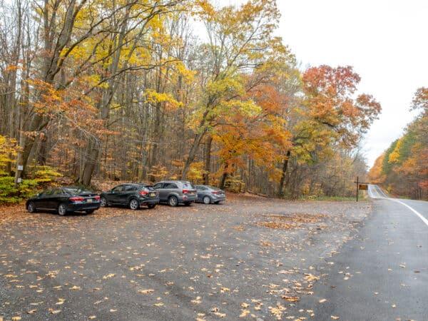 Parking for Tinkers Falls near Syracuse NY