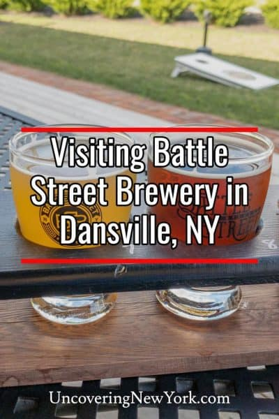 Our review of Battle Street Brewing in Dansville, New York