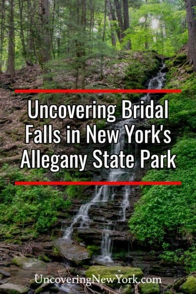 How to find the Hidden Bridal Falls in New York's Allegany State Park