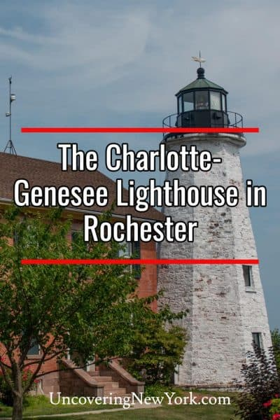 Visiting the Charlotte-Genesee Lighthouse near Rochester, New York