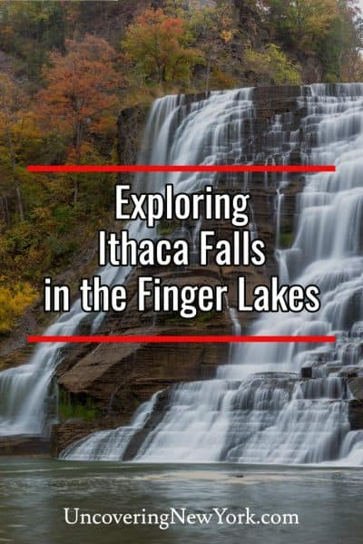 How to get to Ithaca Falls in New York's Finger Lakes