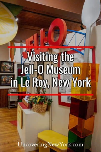 Visiting the Jell-O Museum in Le Roy, New York
