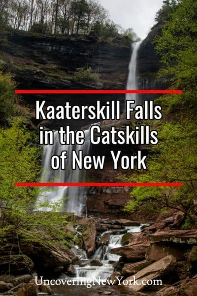 Hiking to Kaaterskill Falls in the Catskills of New York