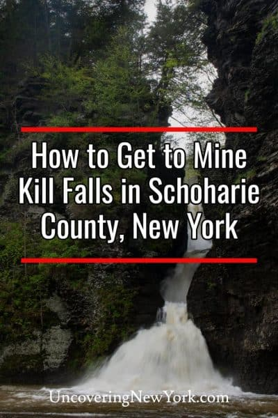 How to get to Mine Kill Falls in Schoharie County, New York