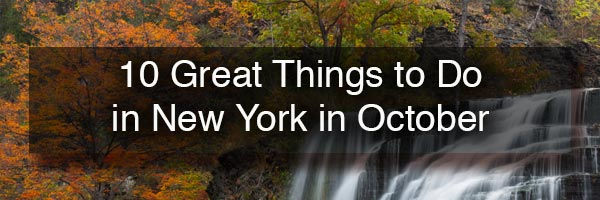 Things to do in New York in October
