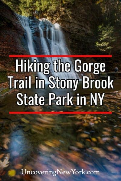 Hiking the Gorge Trail in New York's Stony Brook State Park
