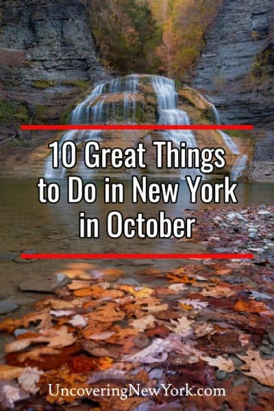 The best things to do in New York in October