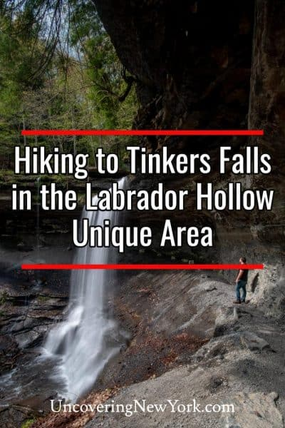 Hiking to Tinkers Falls in the Labrador Hollow Unique Area of New York's Finger Lakes