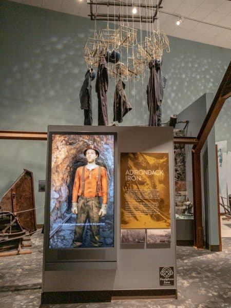 Inside the Life in the Adirondacks at the Adirondacks Experience