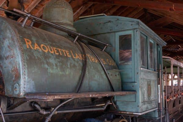 Raquette Lake Trail at the Adirondack Experience