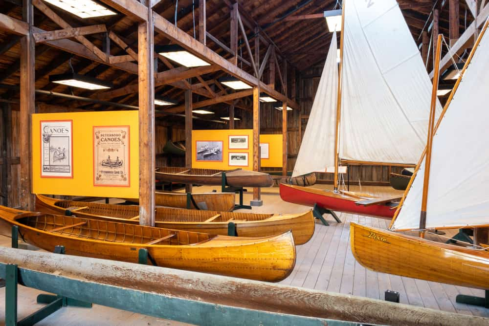 The Antique Boat Museum in Clayton New York
