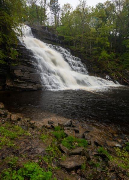 Barberville Falls in Poestenkill NY