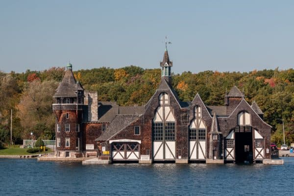 The Yacht House at Boldt Castle