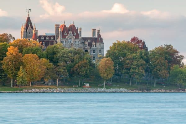 Touring Boldt Castle in the Thousand Islands of New York