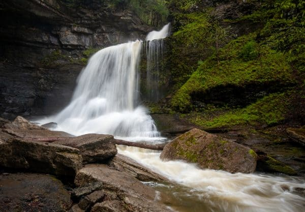 Cowsheds Falls in Fillmore Glen State Park