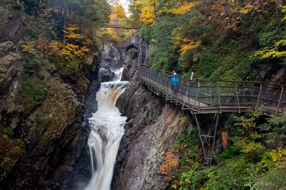 Hiking High Falls Gorge in Lake Placid NY
