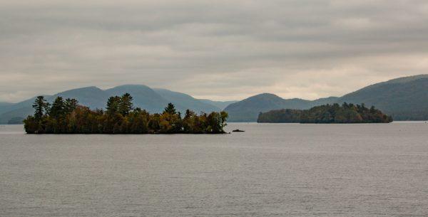 Lake George as seen from the Minne Ha Ha