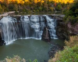 How to Get to Lower Falls in Rochester, New York