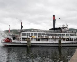 Taking a Lake George Boat Cruise on the Minne Ha Ha Paddlewheel Steamboat