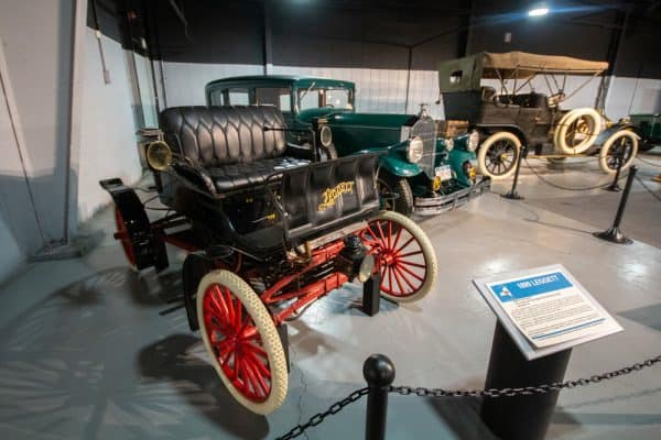 1899 Leggett car at the Northeast Classic Car Museum