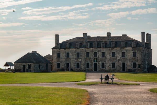 The French Castle at Fort Niagara near Buffalo NY