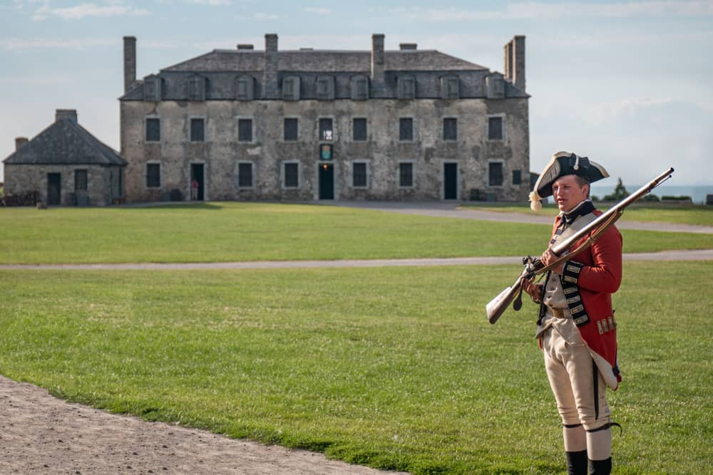 Visiting Old Fort Niagara in New York