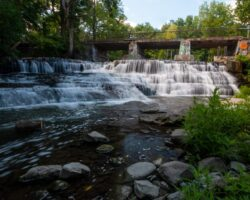 How to Get to Papermill Falls in Avon, New York