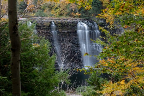 Salmon River Falls in Oswego County New York