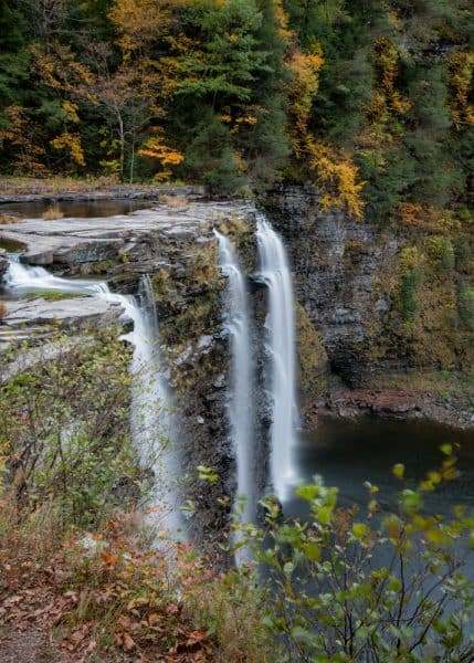 Best view of Salmon River Falls near Altmar NY