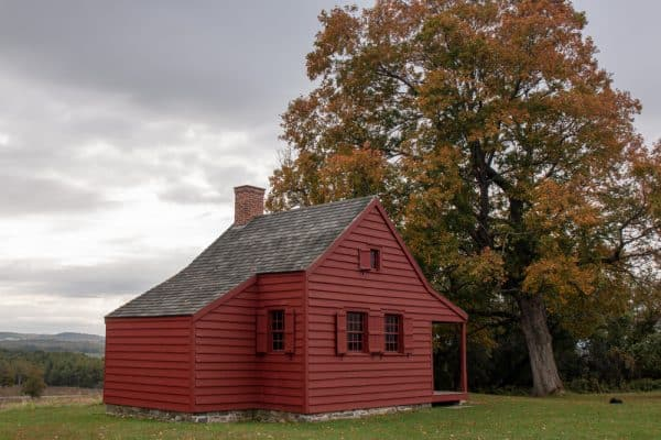 Nielson Farm at the Saratoga Battlefield in New York