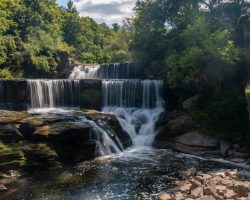 Hiking to the Waterfalls on the Keuka Lake Outlet Trail