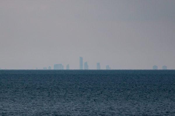 Skyline of downtown Toronto from Fort Niagara