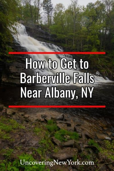 How to Get to Barberville Falls near Albany, New York