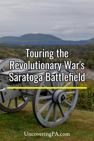 Touring the Saratoga Battlefield in Stillwater, New York