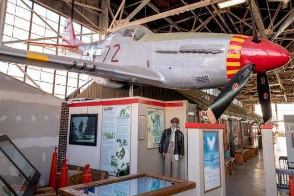 Inside the American Airpower Museum on Long Island New York