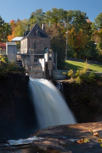 Rainbow Falls in the Adirondacks of New York