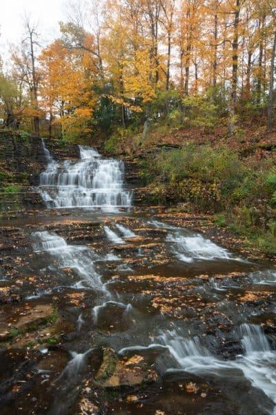 Burrville Falls in the Thousand Islands Region