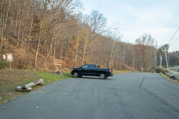 Parking for Buttermilk Falls Park in Rockland County New York